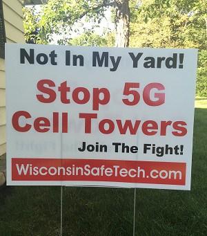 5g yard sign